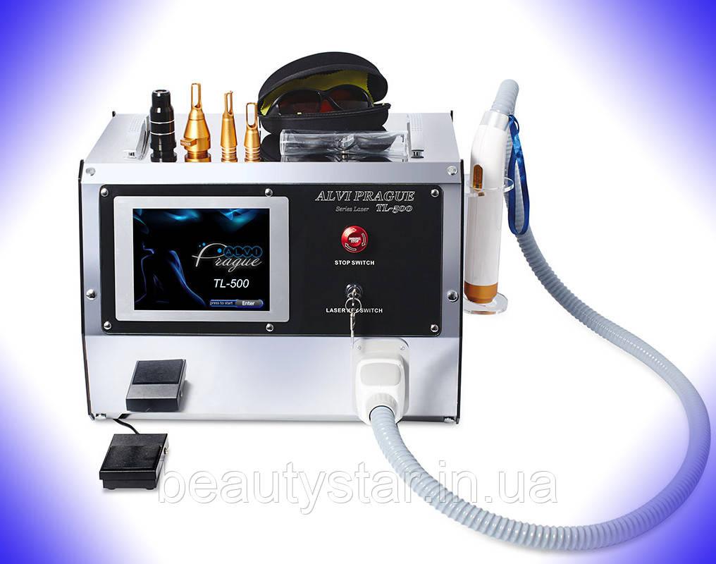 Лазер для видалення татуажу+карбоновий пілінг TL-500 ALVI