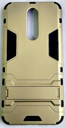 "Протиударний чохол(накладка) ""Armor Case"" Xiaomi Redmi 8A gold, фото 2"
