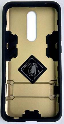 """Противоударный чехол (накладка) """"Armor Case"""" Xiaomi Redmi 8 gold, фото 2"""