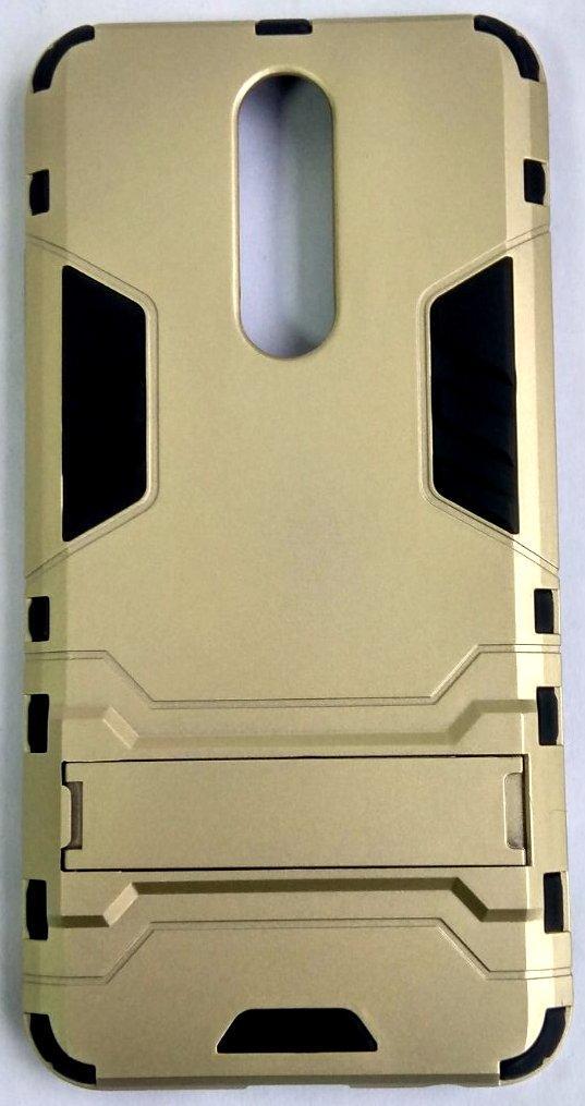 """Противоударный чехол (накладка) """"Armor Case"""" Xiaomi Redmi 8 gold"""