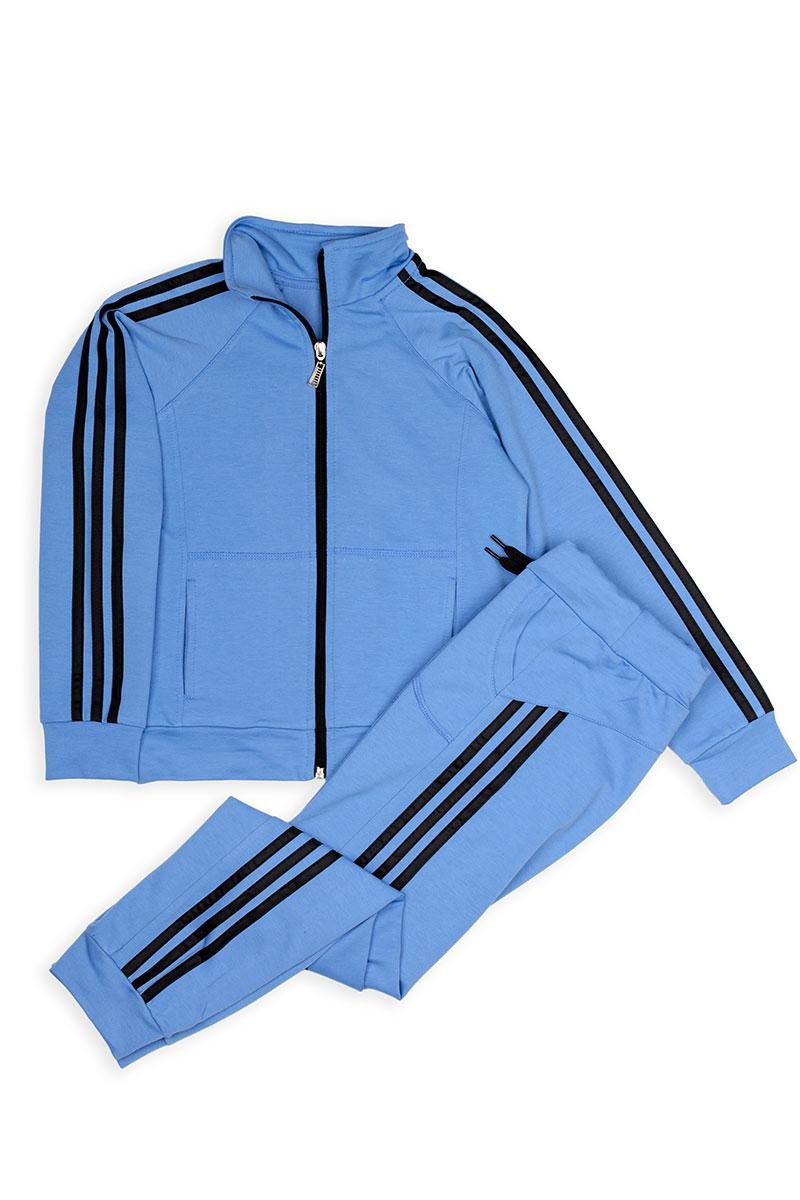 Спортивный костюм с лампасами (джинс)