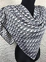 Брендовый шелковый платок Christian Dior PARIS, фото 1