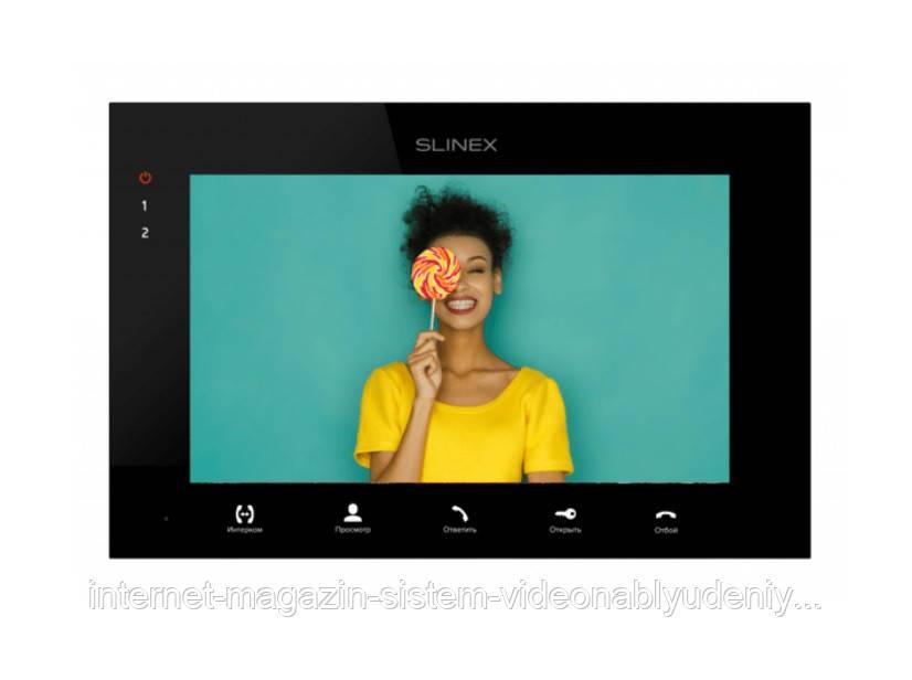 Цветной видеодомофон Slinex SQ-07MTHD Черный