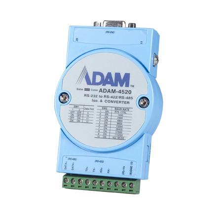 ADAM-4520-EE Гальваноизолированный преобразователь сигналов RS-232 в сигналы RS-422/48