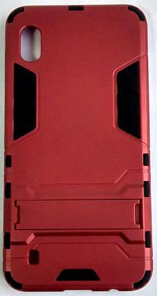 """Протиударний чохол(накладка) """"Armor Case"""" Samsung A105/A10 червоний, фото 2"""