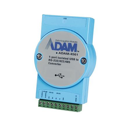 ADAM-4561-CE 1-портовый преобразователь USB в RS-232/422/485 с изоляцией