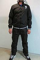Мужской спортивный костюм Найк 585699-1 черный осенний код 325 б