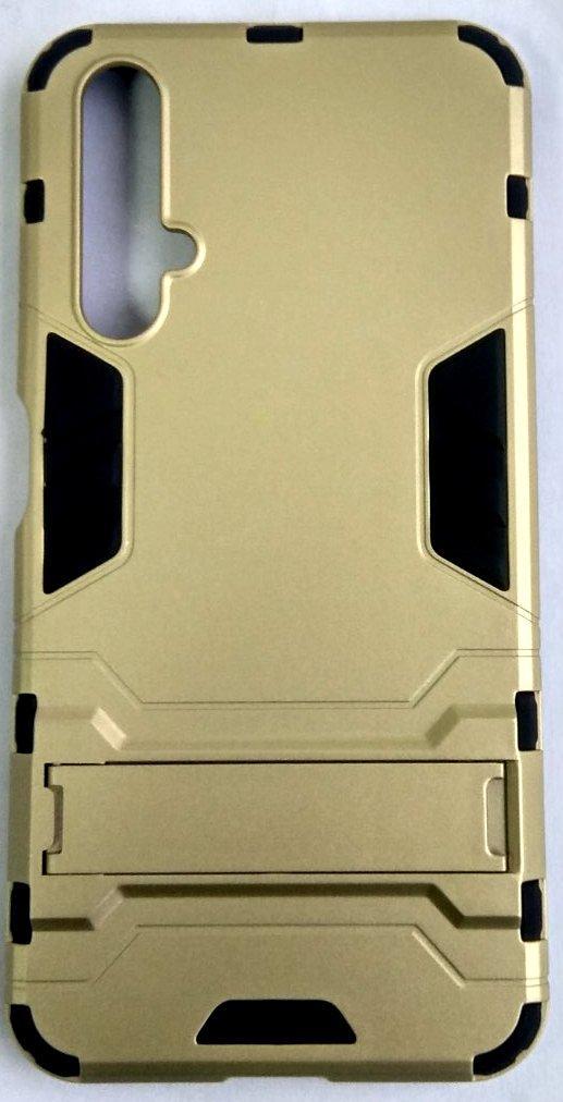 "Протиударний чохол(накладка) ""Armor Case"" Huawei Nova 5T gold"