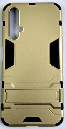 "Протиударний чохол(накладка) ""Armor Case"" Huawei Nova 5T gold, фото 2"