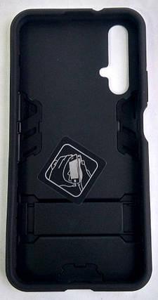 """Протиударний чохол(накладка) """"Miami Armor Case"""" Huawei Nova 5T чорний, фото 2"""