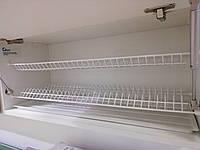 Кухоний посудосушитель REJS білий  (2 полиці, 1 піддон, 8 кріплень)