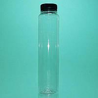 """ПЭТ  Бутылка """"Тубус"""" 350 мл. с крышкой Ø 38 мм."""