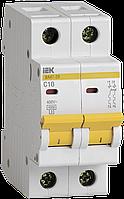 Автоматический выключатель ИЭК ВА47-29 2р С 10А