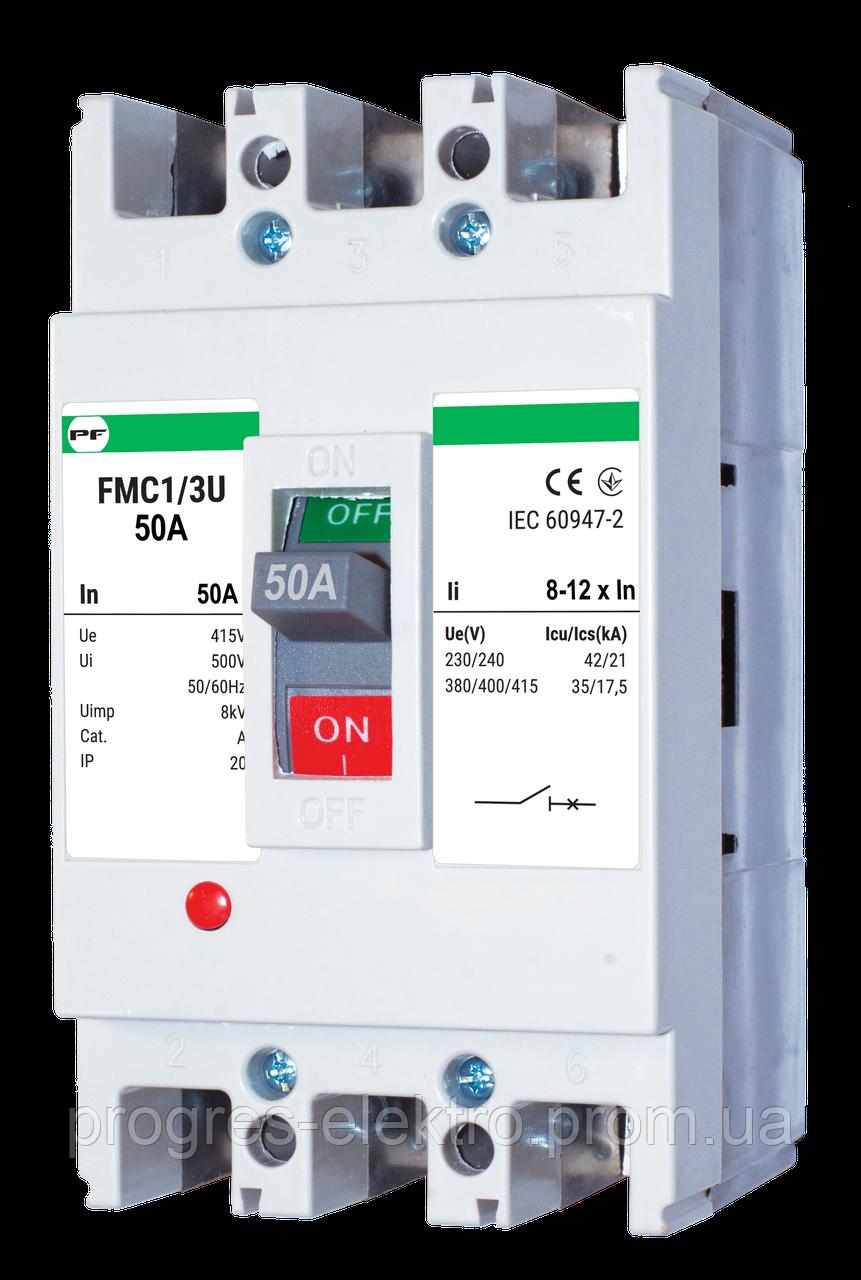 Силовой автоматический выключатель FMC1/3U 50A Promfactor