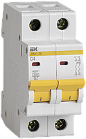 Автоматический выключатель ИЭК ВА47-29 2р С 4А