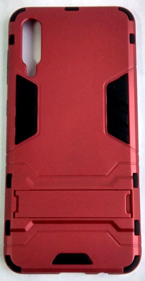 """Противоударный чехол (накладка) """"Armor Case"""" Samsung A505 / A50 / A307 / A30S красный"""