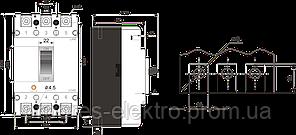 Силовой автоматический выключатель FMC2/3U 50A Promfactor