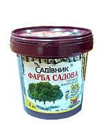 Краска садовая для побелки деревьев, 4 кг, Садовник