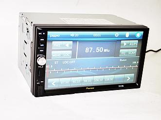 Pioneer 7012 7'Экран USB+Bluetooth Магнитола 2Din (длинная база)