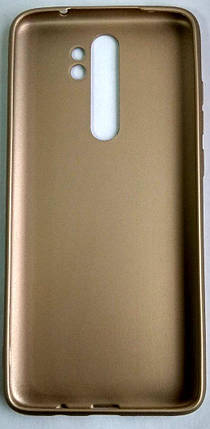 "Силіконовий чохол ""Rock"" для Xiaomi Redmi Note 8 Pro gold, фото 2"