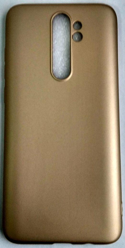 "Силіконовий чохол ""Rock"" для Xiaomi Redmi Note 8 Pro gold"