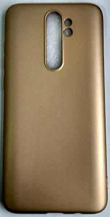 """Силиконовый чехол """"Rock"""" для Xiaomi Redmi Note 8 Pro gold, фото 2"""