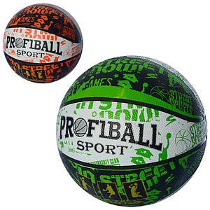 Мяч баскетбольный с рисунком PROFI EN-3222-1 размер 7