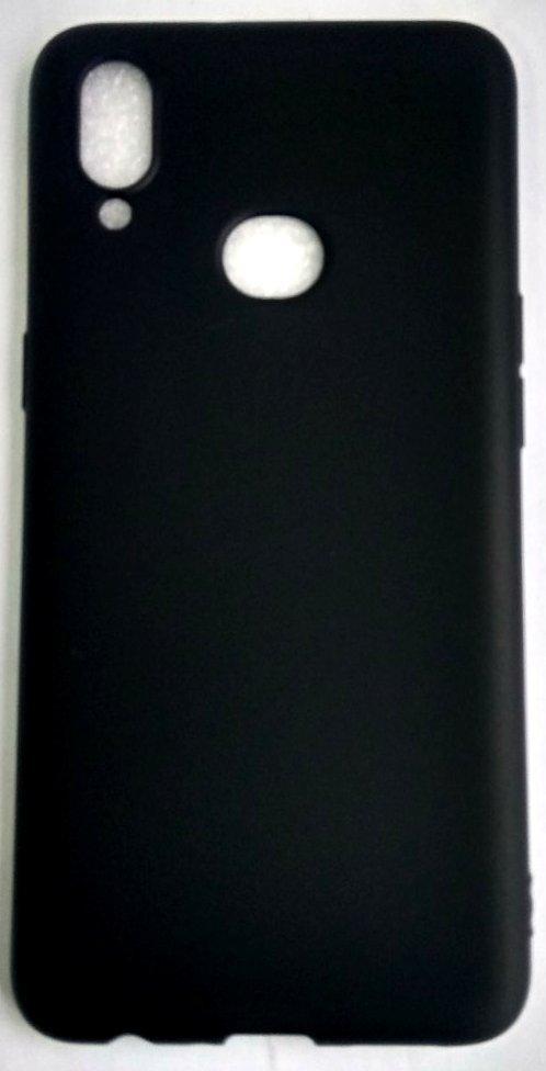 """Силиконовый чехол """"Rock"""" Samsung A107 / A10S черный"""