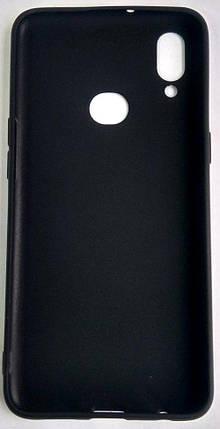 """Силиконовый чехол """"Rock"""" Samsung A107 / A10S черный, фото 2"""