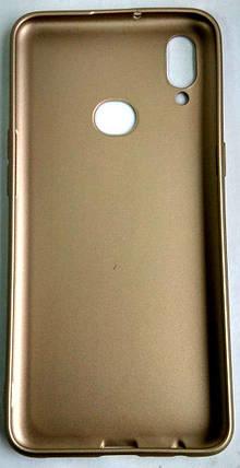 """Силиконовый чехол """"Rock"""" Samsung A107 / A10S gold, фото 2"""