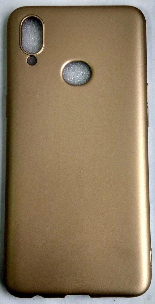 """Силиконовый чехол """"Rock"""" Samsung A107 / A10S gold"""