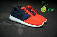 Кроссовки Nike Roshe Run Hyperfuse Blue Red, фото 1