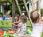 Детская игровая площадка Blue Rabbit PAGODA + качели SWING для детей, фото 4
