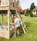 Детская игровая площадка Blue Rabbit PAGODA + качели SWING для детей, фото 5
