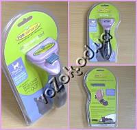 Фурминатор для маленьких кошек FURminator Long Hair Small Cat deShedding 4,5см c кнопкой