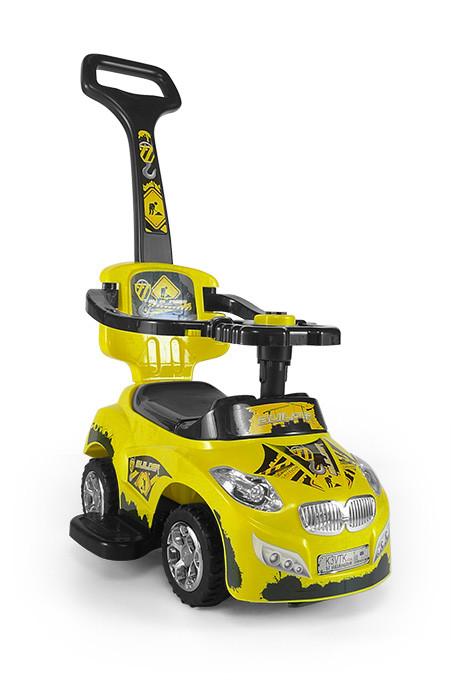 Машинка-каталка  801 Happy ТМ Milly Mally  желтый(Yellow)