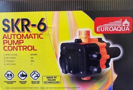 Автоматичний контролер тиску SKR - 6 Euroaqua