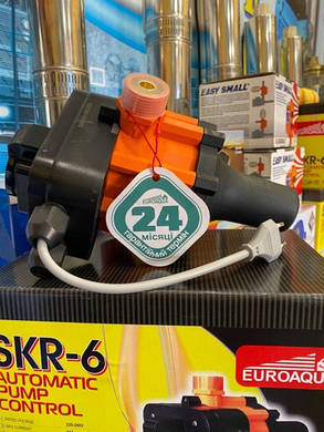 Автоматичний контролер тиску SKR - 6 Euroaqua, фото 2
