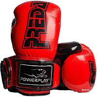 Боксерські рукавиці 3017 Червоні карбон 10 унцій R144166