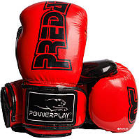 Боксерські рукавиці 3017 Червоні карбон 14 унцій R144167