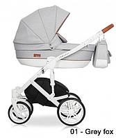 Детская универсальная коляска 2 в 1 Riko Naturo 01 Grey Fox (Рико Натуро)