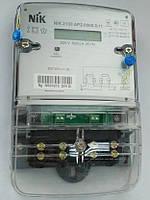 Электросчетчик однофазный NIK 2100 AP2.0000.0.11 220В 5-60А 2-х шунтовой, ЖКИ электронный