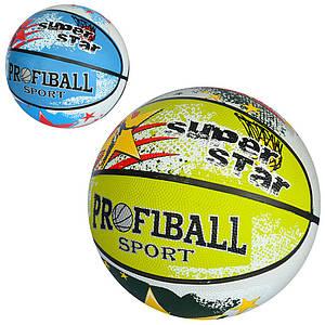 Мяч баскетбольный с рисунком PROFI EN-3222-2 размер 7