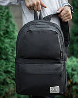 Рюкзак черный городской / молодежный  мужской / женский Шеньчже  ТОП качество
