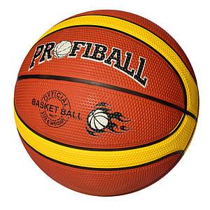 Мяч баскетбольный PROFI MS 2770 резина 600-620г