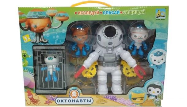 Игровой набор Октонавты