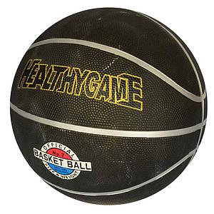 Мяч баскетбольный черный PROFI VA-0051 размер 7