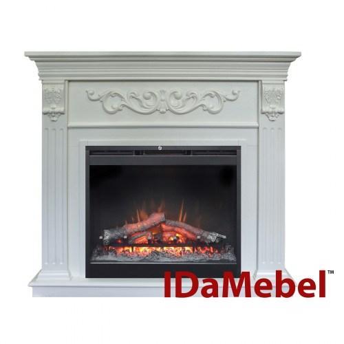 Камин портал для электрокамина DIMPLEX IDaMebel Marseille (портал без очага для Symphony 26/Etna,White)