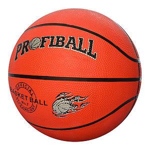 Мяч баскетбольный PROFI VA-0001 рисунок печать