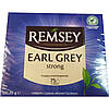 Чорний чай Remsey Earl Grey Strong із бергамотом 75 пакетиків Польща, фото 3